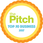 The Pitch Top 50 Businesses of 2017 Badge