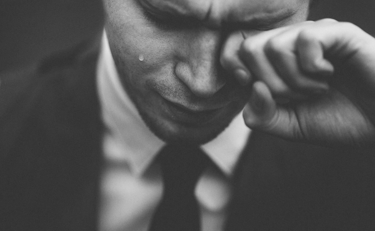 Tears don't mean you're losing, everybody's bruising - life coach uk